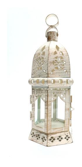 Farol Porta Vela Metal/chapa M11 #60121 - Sheshu