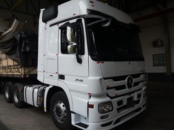 Actros 2546 6x2 2012 Com Motor E Câmbio Novos