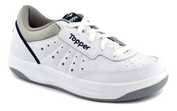 Topper Zapatillas Tenis Unisex X Forcer Cf Bco - Gris - Az