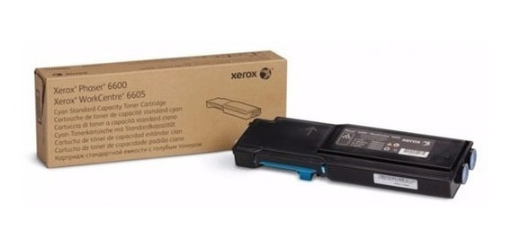 Toner Cyan Xerox Phaser 6605/6600 106r2249