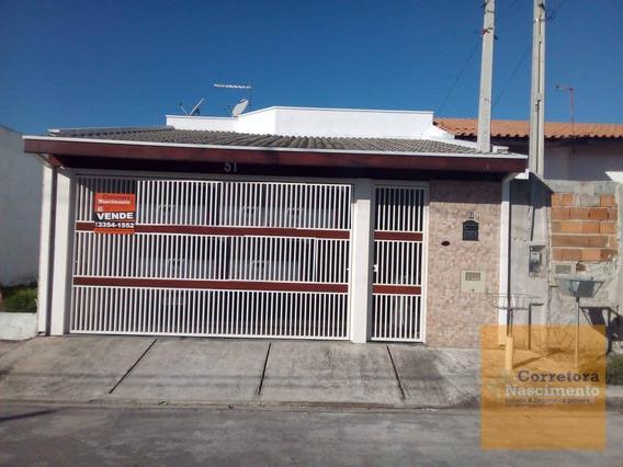 Ca1394- Casa Com 2 Dormitórios À Venda, 145 M² Por R$ 300.000 - Residencial Parque Dos Sinos - Jacareí/sp - Ca1394