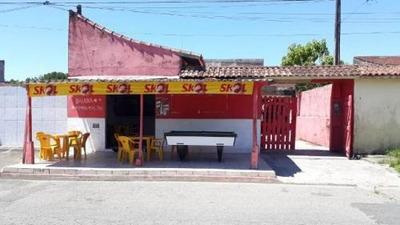 Casa + Comércio Em Itanhaém Ficando Lado Morro 250m² R 5113