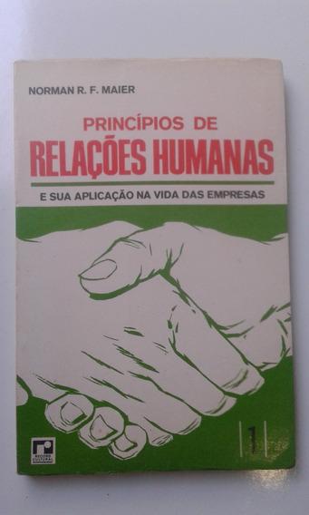 Livro - Princípios De Relações Humanas 1 - Norman R F Maier