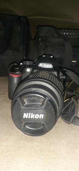 Câmera Nikon D3100 Mais Lente Com 17771 Clicks