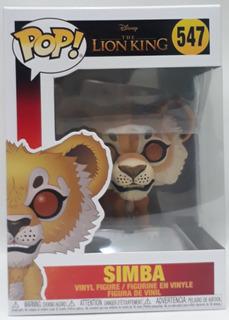 Funko Pop 547 Simba-the Lion King- Original