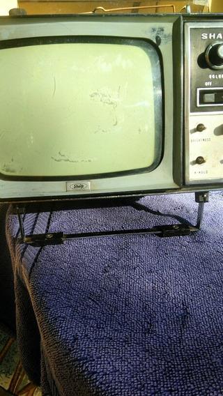 Mini Tv Sharp Modelo T.r.p.603 Para Pecas