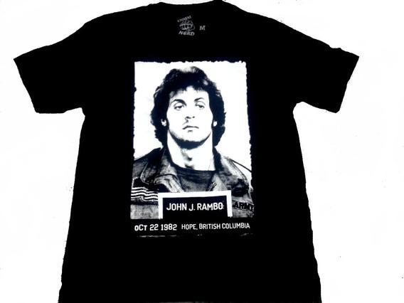 Camiseta John Rambo Sylvester Stallone Filme