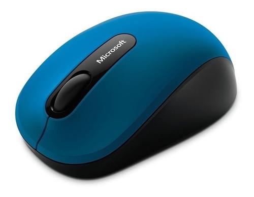 Imagem 1 de 3 de Microsoft Bluetooth Mobile Mouse 3600 Sem Fio Wireless - Sensor Bluetrack - Azul