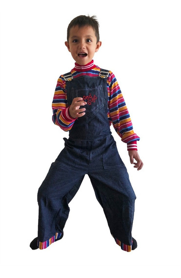 Disfraz De Chucky 2019 El Muñeco Diabólico Halloween Niño