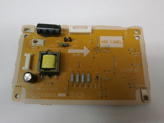 Placa Inverter Panasonic Tc-l39b6b Tnp4g552