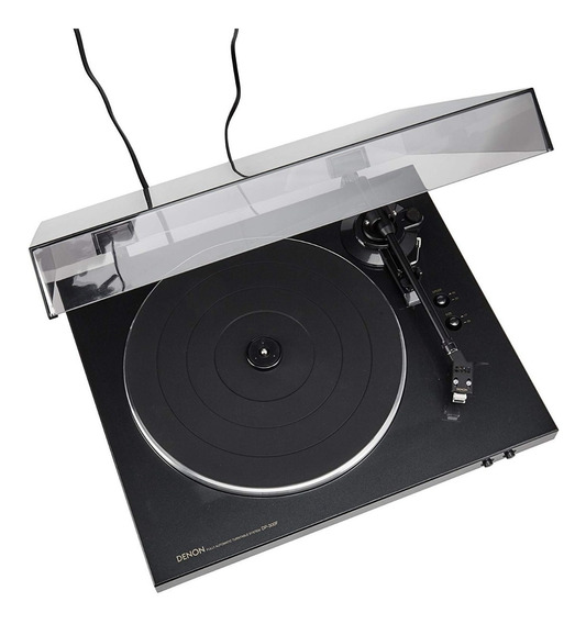 Toca Disco Denon Dp-300f Turntable Automatico Profissional