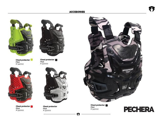 Pechera Rpm Cross Motocross Enduro Mx - Trapote Racing