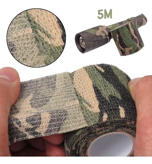 Fita Camuflagem Camo Tape 5 Metros Multicam Sniper Airsoft
