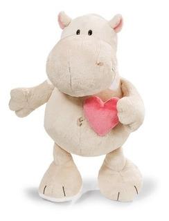 Nici- Hippo Love Crema 35cm