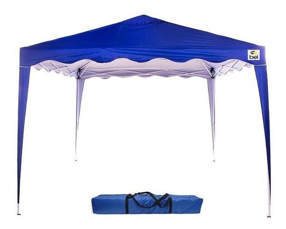 Tenda Bel Fix Gazebo 3 X 3m Alum.dobravel Azul