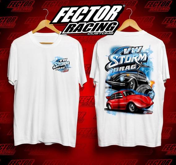 Kit 2 Camisetas Vw Gol Opala Chevette Honda Fusca Marea