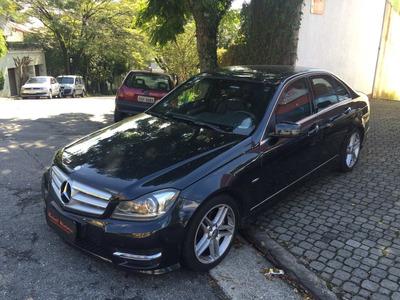 Mercedes C250 Cgi ( 2011/2012 ) Blindada R$ 83.899,99