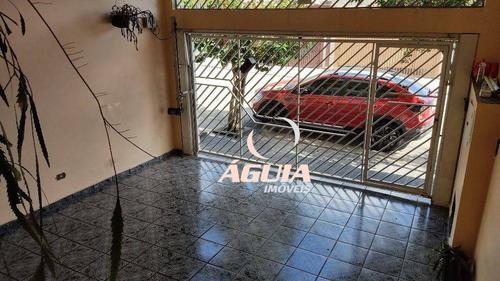 Imagem 1 de 30 de Sobrado Com 3 Dormitórios À Venda, 177 M² Por R$ 430.000,00 - Parque Gerassi - Santo André/sp - So1594
