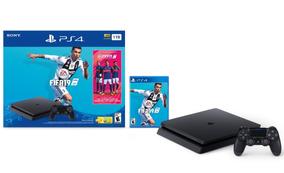 Oferta Consola Playstation Ps4 Slim 1tb + Fifa 19 + Memb.