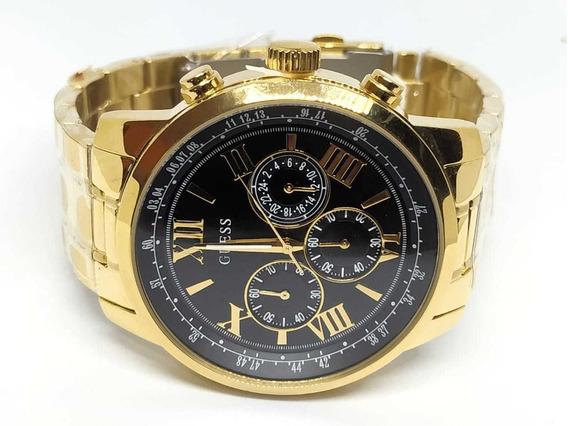 Relógio Guess Banhado A Ouro 92526gpgdda5 - Original / Nf