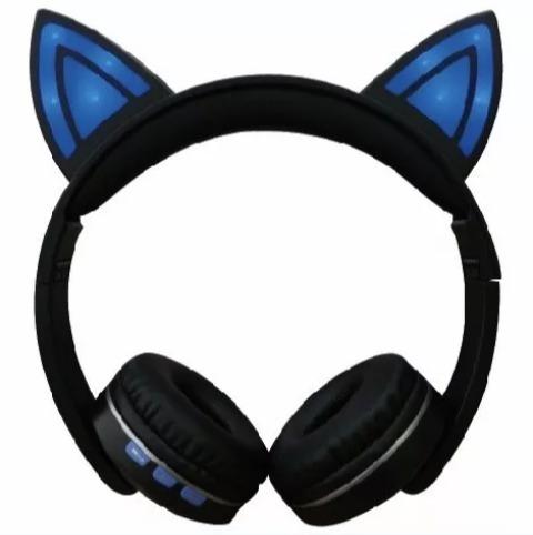 Audifonos Cat Ear Bluetooh Mp3 Pc Tienda