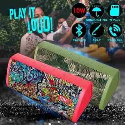 Caixa De Som Mifa A10 Bluetooth A Prova D