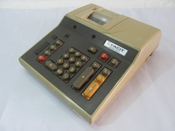 Calculadora Antiga - Facit 2520/1204
