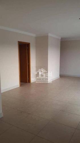 Apartamento Com 3 Dormitórios À Venda, 134 M² Por R$ 750.000,00 - Jardim Nova Aliança Sul - Ribeirão Preto/sp - Ap3096