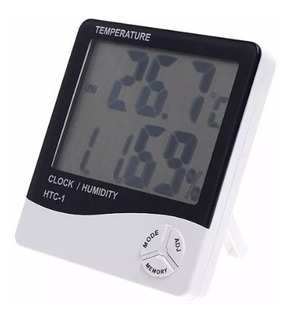 Termometro Higrometro Ambiental Lcd Digital + Garantía!
