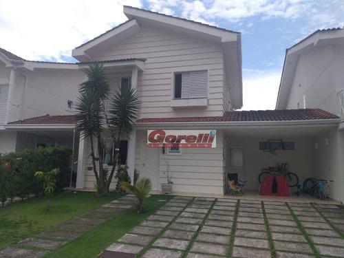 Casa Com 3 Dormitórios À Venda, 183 M² Por R$ 800.000,00 - Condomínio Sunville - Arujá/sp - Ca1790