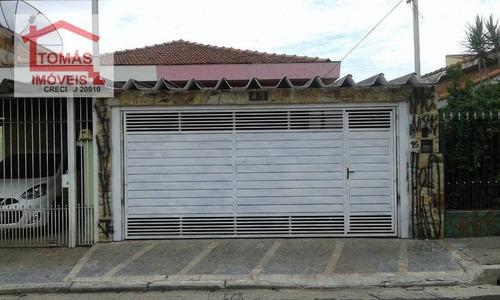Imagem 1 de 20 de Casa Residencial À Venda, Jardim Maristela, São Paulo. - Ca0532