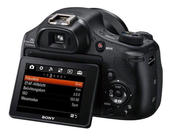 Câmera Sony Cybershot Dsc Hx400 V / 20mp / Zoom 50x / Wi-fi
