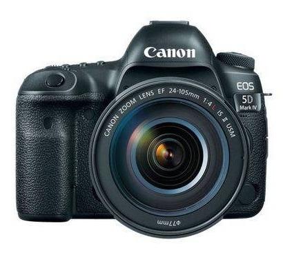 Câmera Canon (gb) Eos 5d Mark Iv 24-105mm F/4l Is Ii Usm