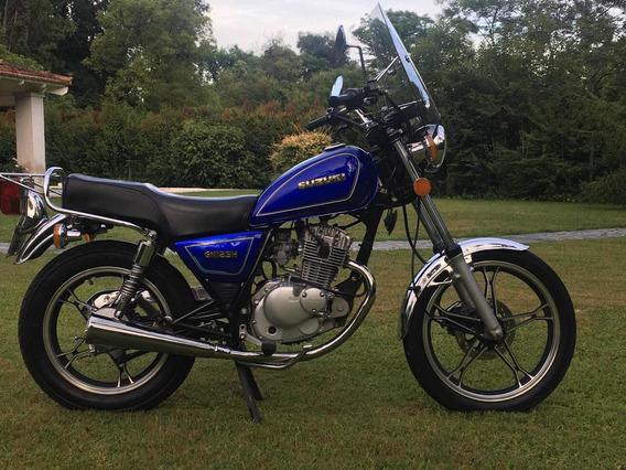 Suzuki Gn 125 Impecable- Permutaria