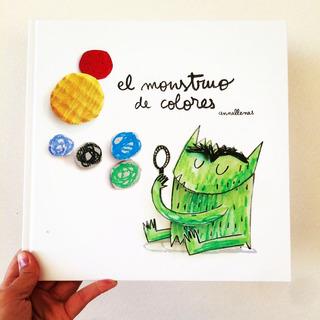 El Monstruo De Colores - Anna Llenas