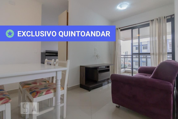 Apartamento No 9º Andar Com 1 Dormitório E 1 Garagem - Id: 892949033 - 249033