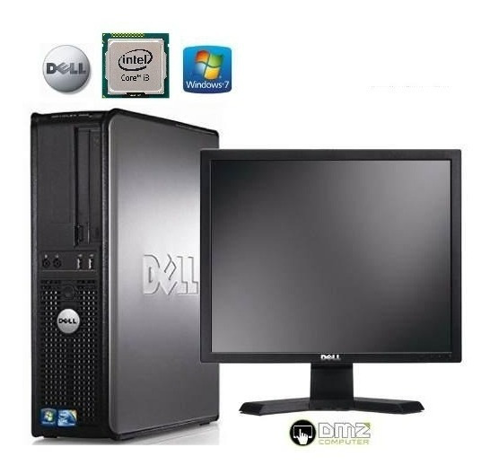 Combo Pc I3 + Monitor Dell17