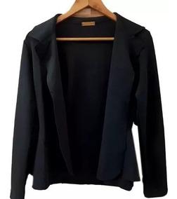 6 Casacos Blazer Neoprene Lazer Plus Size Terninho Cinturado