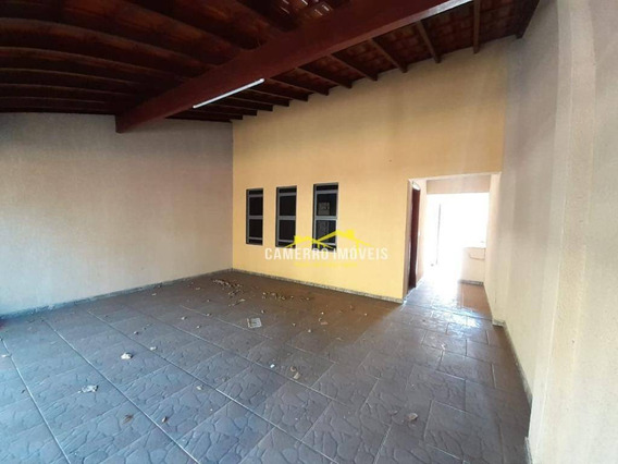 Casa Com 3 Dormitórios Para Alugar, 100 M² Por R$ 1.100/mês - Parque São Jerônimo - Americana/sp - Ca2538
