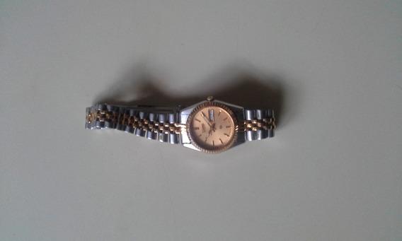 Relógio Seiko Em Aço Feminino