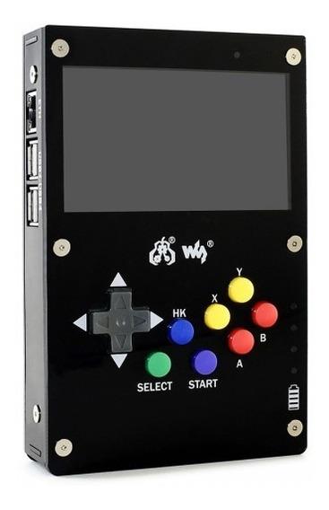 Case Waveshare Gamepi43 Tela Controle Para Raspberry Pi3 B