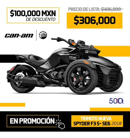 Spyder Sea Doo Can Am Gran Venta Especial 50qmtors