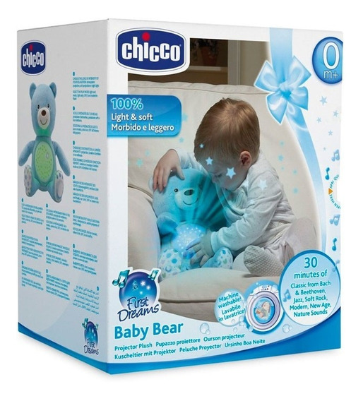 Chicco Proyector Baby Bear Celeste 80152 Ch