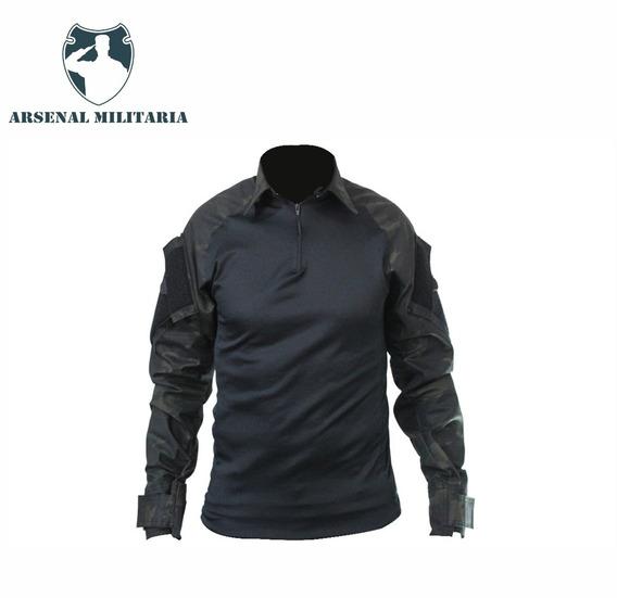 Camisa Combat Shirt Camuflada Varias Cores Proteção Uv +50