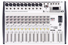 Mesa De Som Mixer Staner Mx 1203 Mx1203 Usb