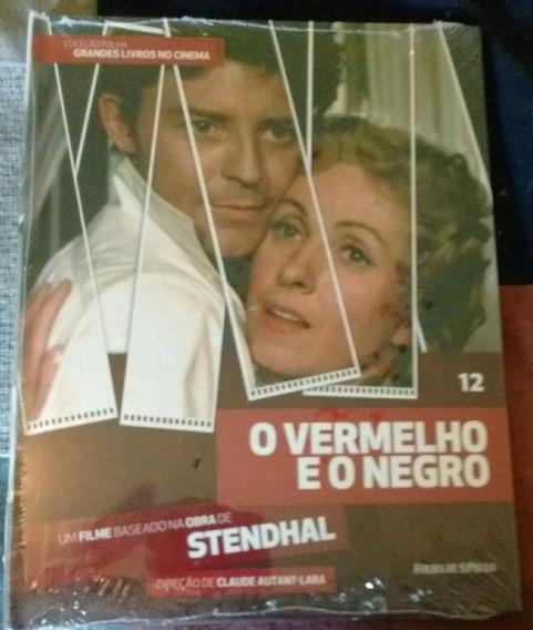 Dvd O Vermelho E O Negro - Coleção Folha 12 - Novo!
