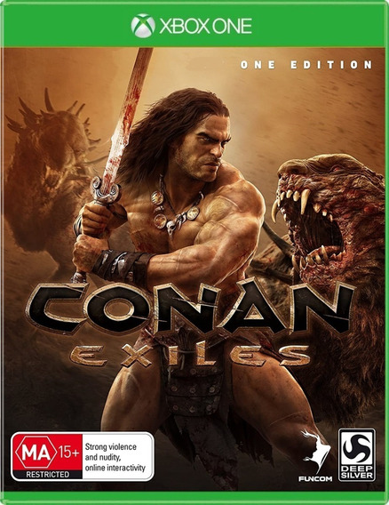 Jogo Conan Exiles Xbox One Midia Fisica Original Português