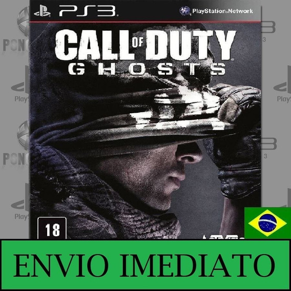 Call Of Duty Ghosts Ps3 - Mídia Digital Comprou Chegou