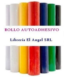 Rollo Autoadhesivo Color De Pvc Tipo Contact X10m 45cm