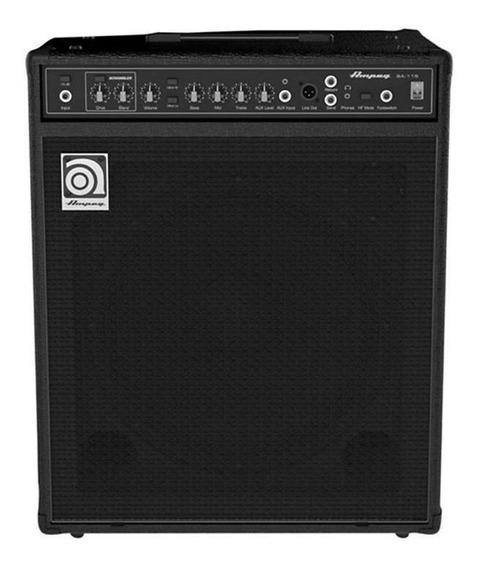 Amplificador Ampeg Bassamp Series BA-115 150W preto 110V